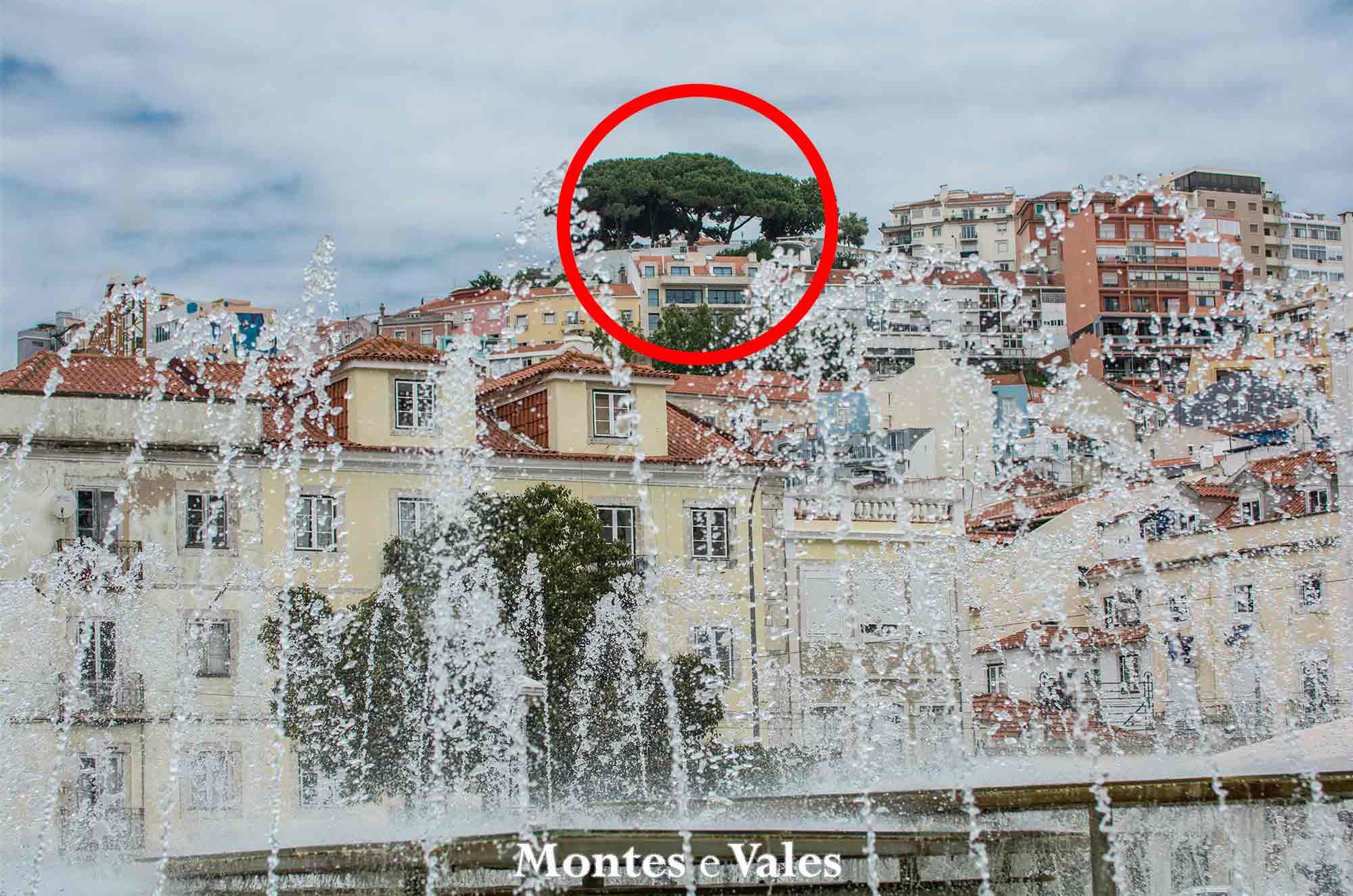 Miradouro, qual é assinalado na fotografia?