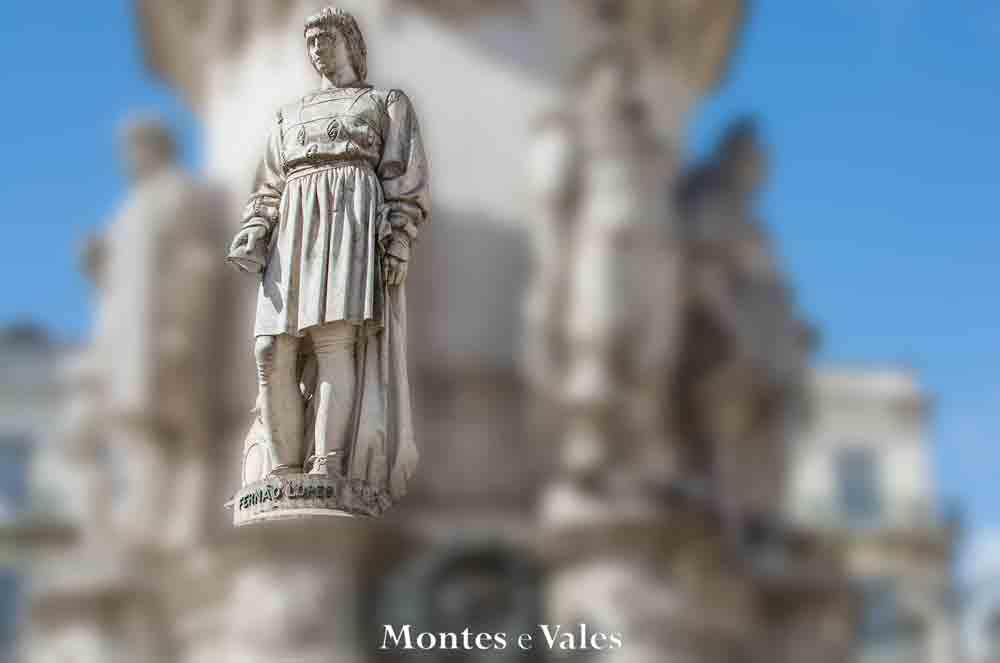 Fernão Lopes, onde está a estátua do cronista e historiador?