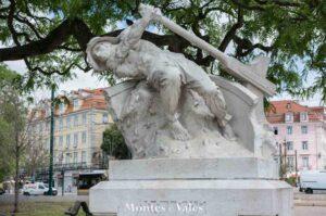 Estátua em Lisboa
